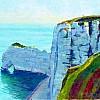 La falaise d'Amont