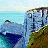 La falaise d'Amont (versie2)