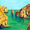 Algarve rotsen